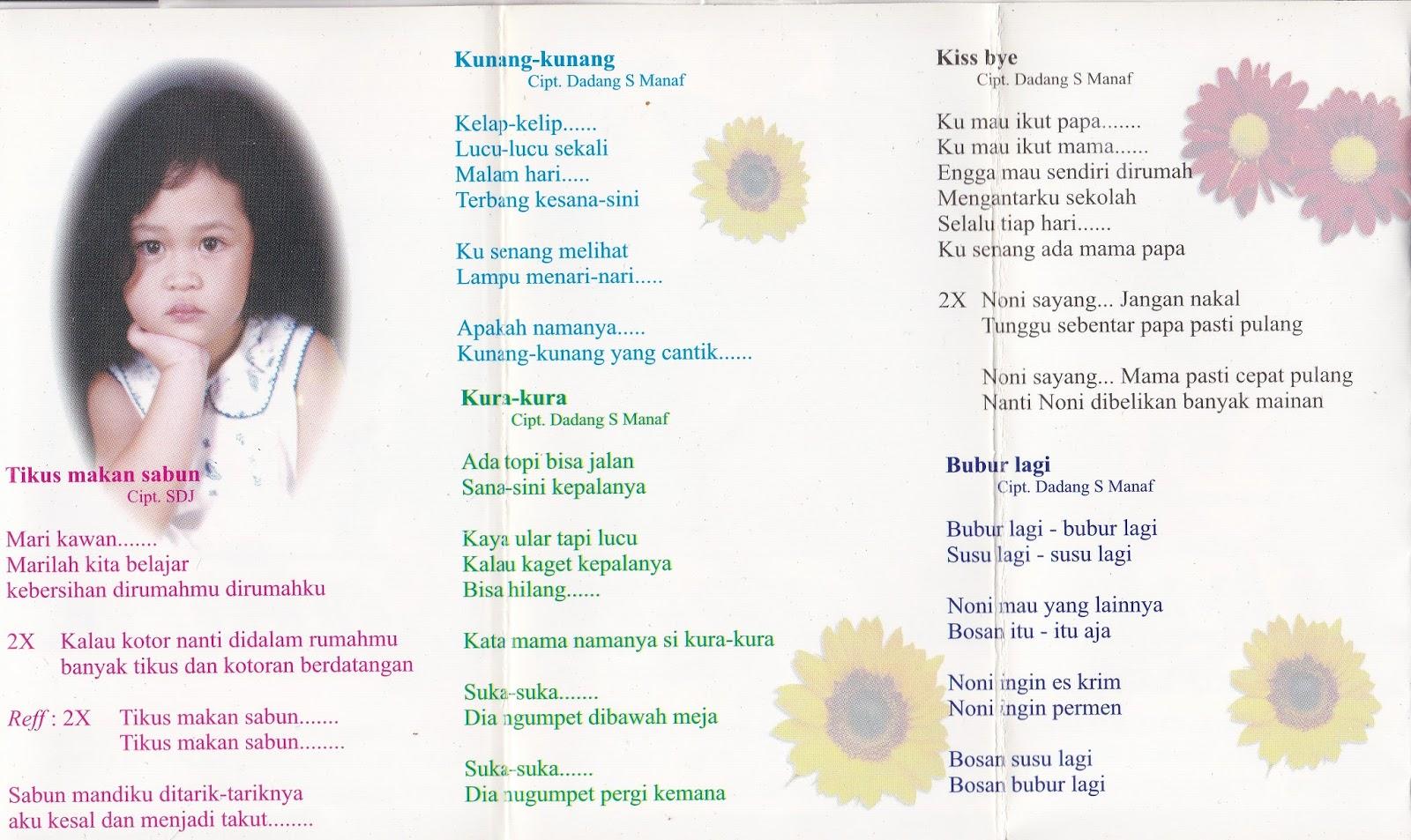 Sampul Kaset Anak Jaman Dulu 01 07 16