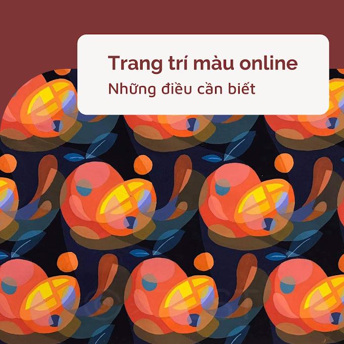 Học vẽ Trang Trí Màu Online - những điều bạn cần biết