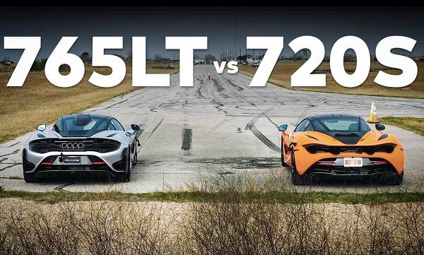 McLaren 765LT vs McLaren 720S