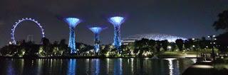 Gardens by the Bay o Jardines de la Bahía, Singapur o Singapore.
