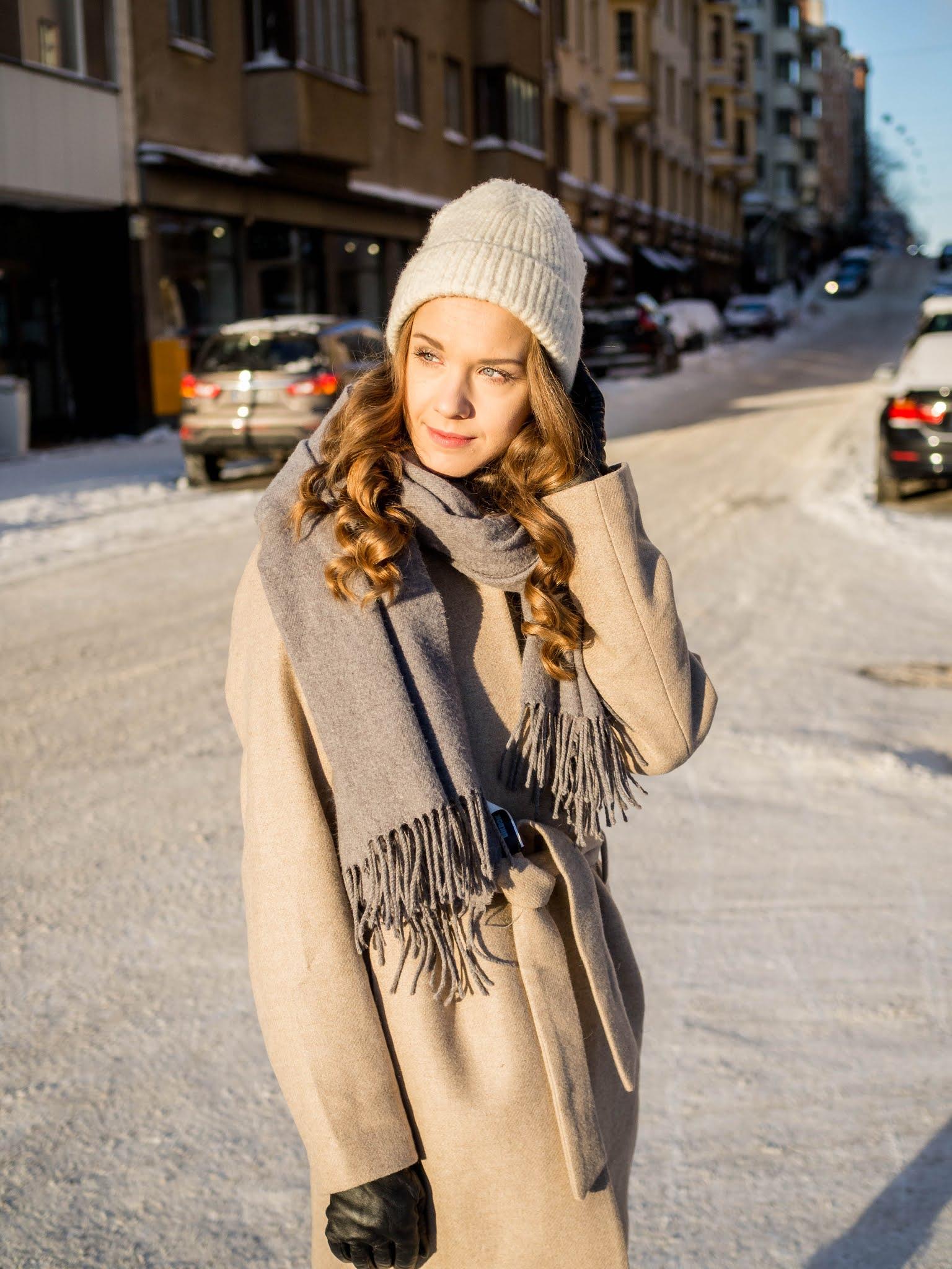 Kuinka pukeutua tyylikkäästi talvella // How to dress stylishly in winter