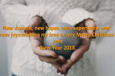 Christmas and New Year Greetings Message
