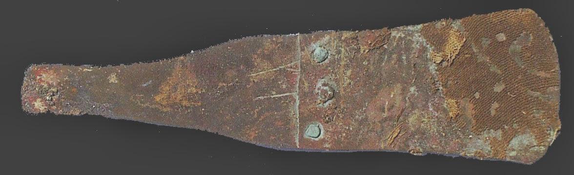 Navaja para afeitar. Desierto Nubio, sur de Egipto.2500AC