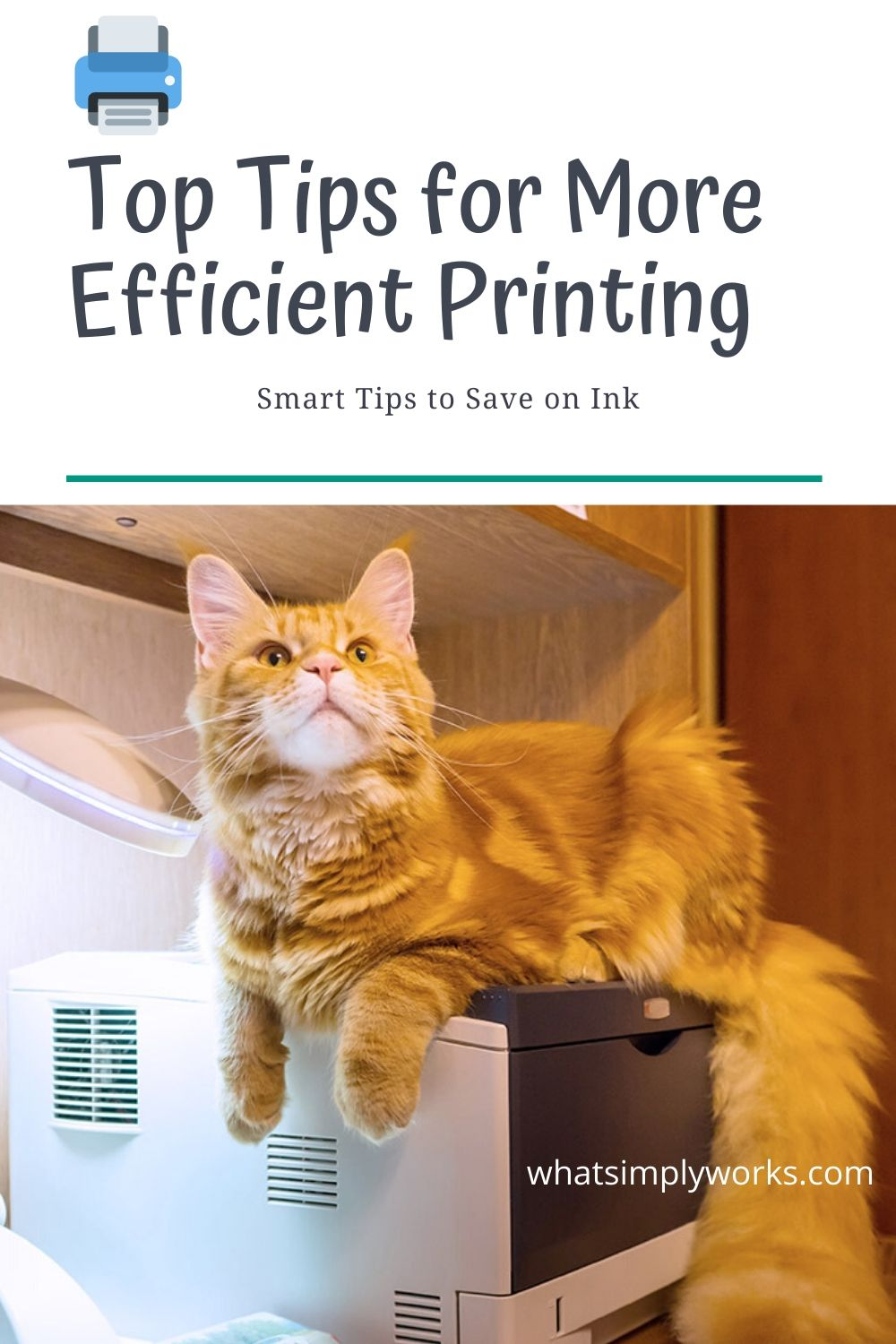 cat printer, Top Tips for More Efficient Printing