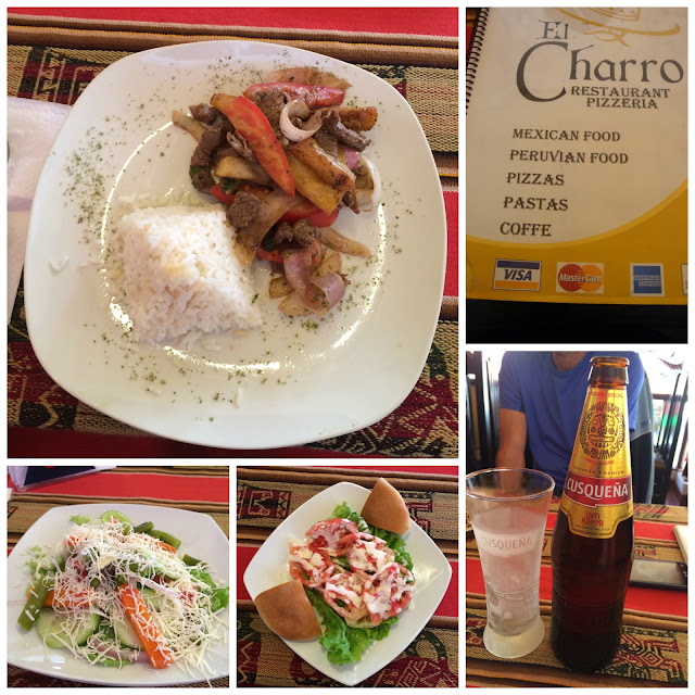 Onde comer em Aguas Calientes - Restaurante El Charro