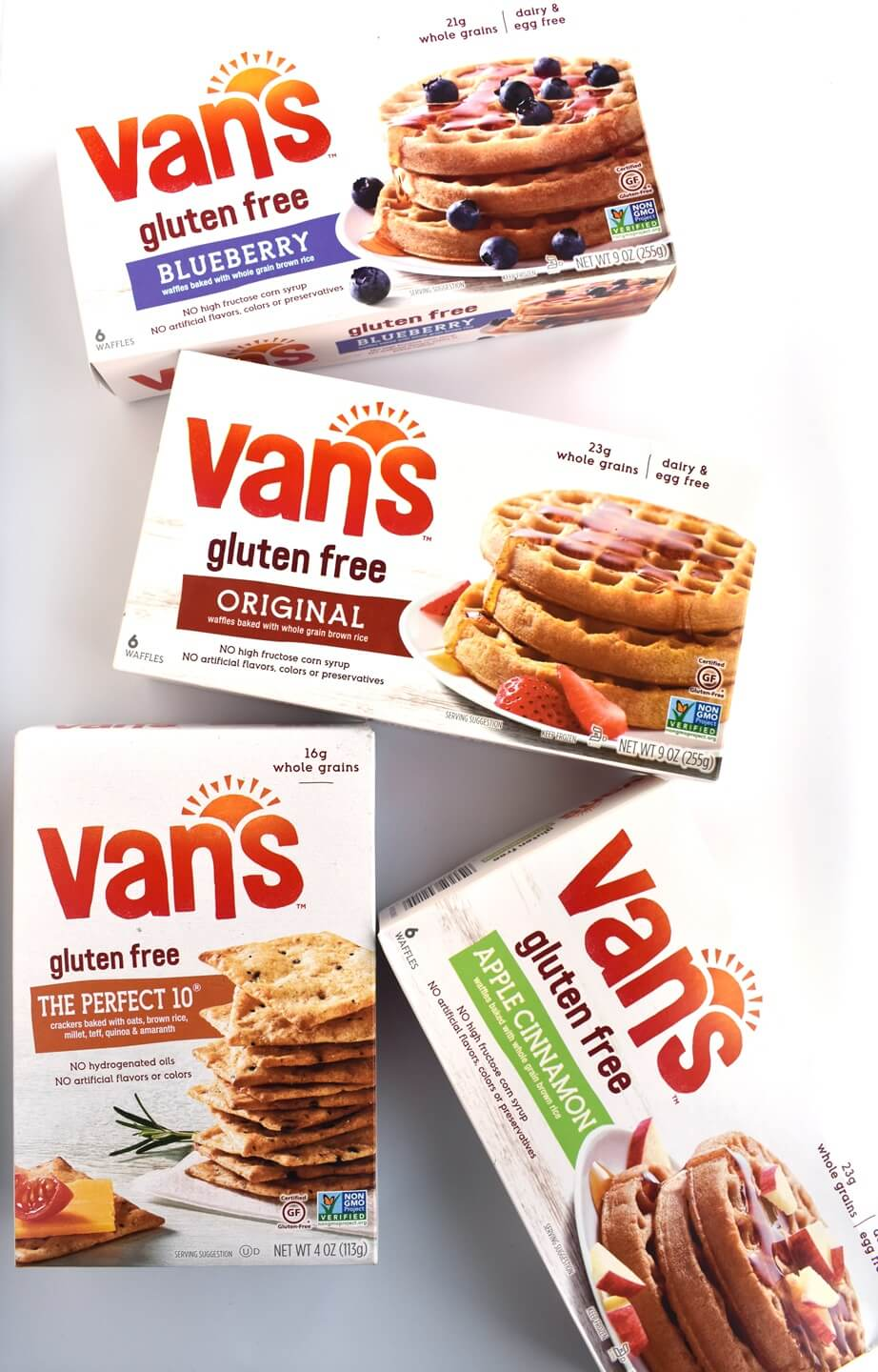 Van's Waffles and Crackers