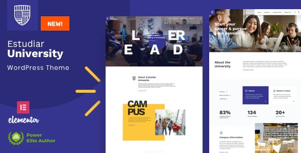 Estudiar v1.1 - College University WordPress