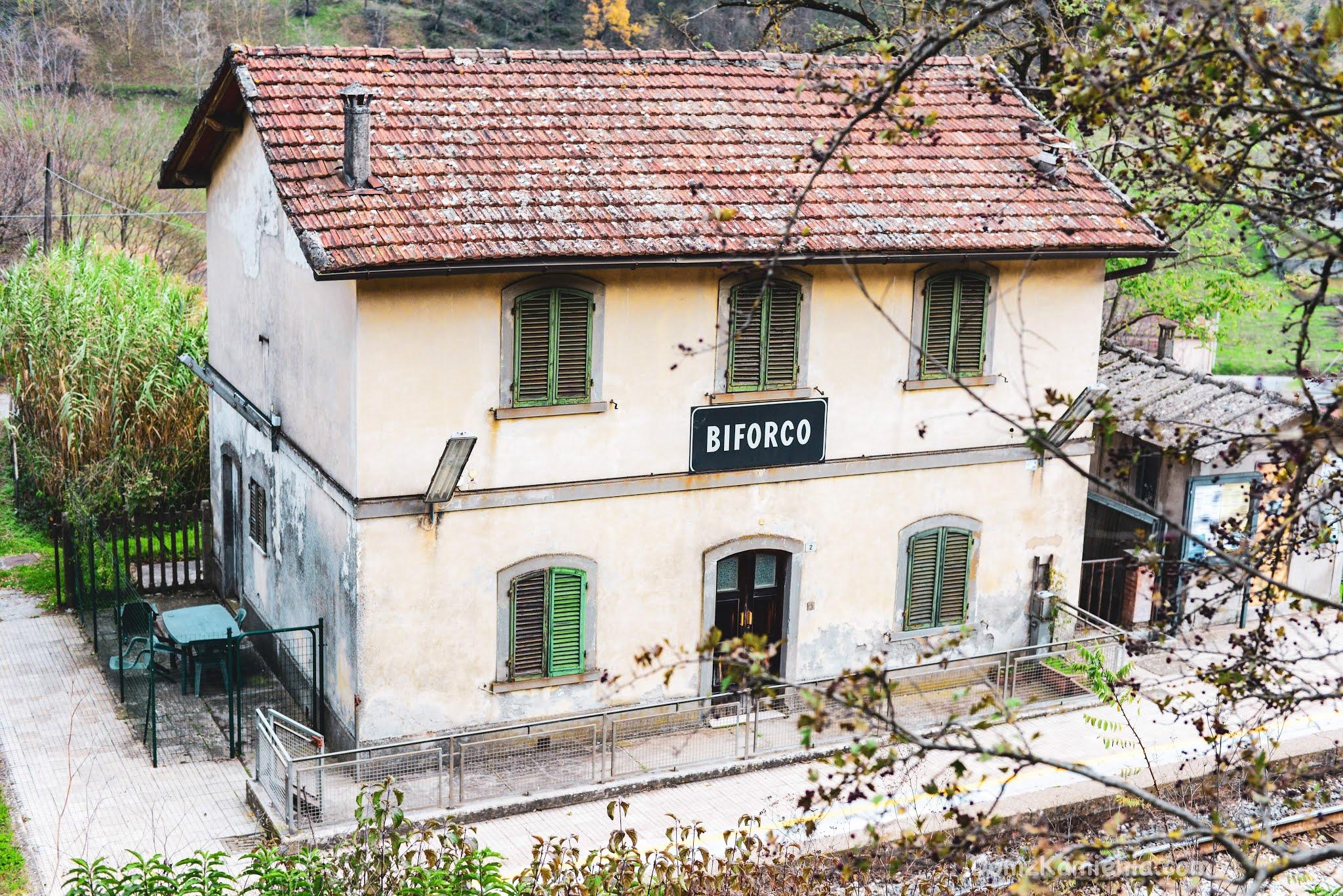 Dom z Kamienia blog, Marradi, Toskania nieznana