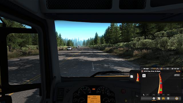 American Truck Simulatorプレイ画面スクショ5