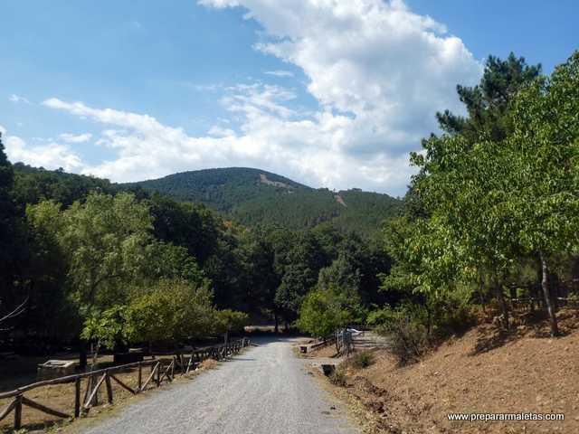 zona recreativa y picnic Castañar El Tiemblo