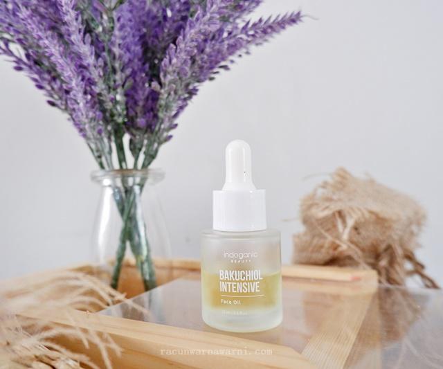 Review Indoganic Bakuchiol Intensive Face Oil, Beneran Bisa Menggantikan Retinol?