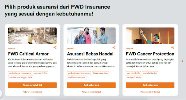 produk asuransi jiwa dan suransi kesehatan fwd insurance