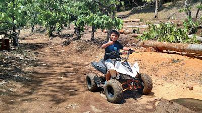 Arena off road ATV di Banaran 9 Resort