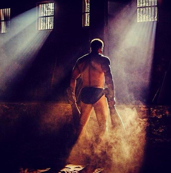 Salman Khan in Black Briefs