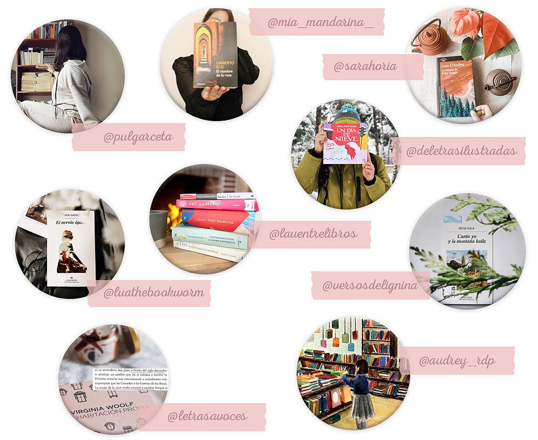 cuentas instagram libros lecturas
