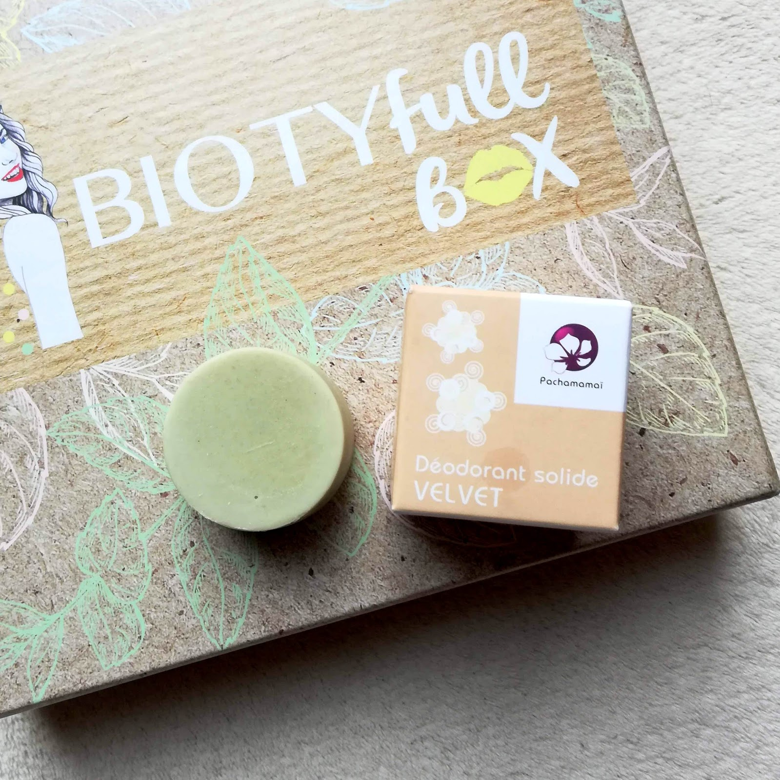 BIOTYFULLBOX Octobre 2019  100% Solides, 100% Recyclables