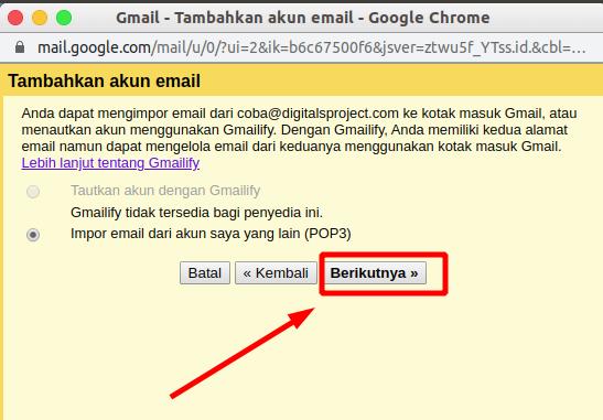 Cara Menghubungkan Email Domain Sendiri Ke Gmail