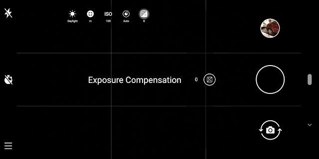 Nokia Pro Camera Exposure Value