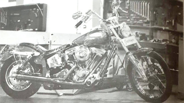 Moge Jatayu Custom Harley-Davidson