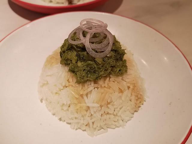 Scallion ginger rice