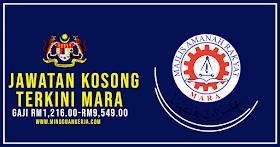 Majlis Amanah Rakyat (MARA) Buka Pelbagai Jawatan Kosong Terkini Januari 2021 Seluruh Negara ~ Minima SPM Layak Mohon
