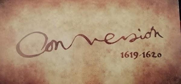 Logotipo del cuarto centenario del Cristo de la Conversión