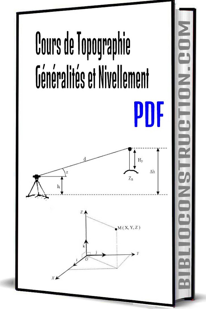 Cours de Topographie Généralités et Nivellement pdf