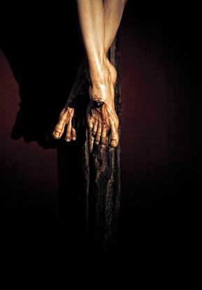 Jesus on the cross. John 3:16.