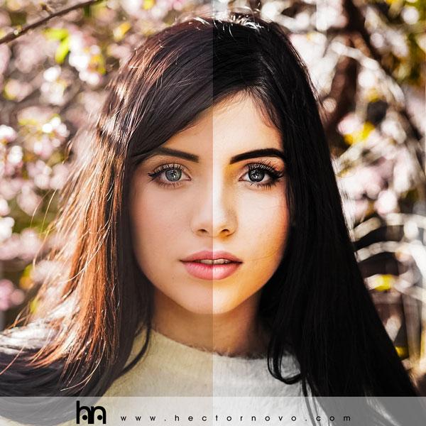 """Filtro fotográfico """"Ludmila"""" con Photoshop"""