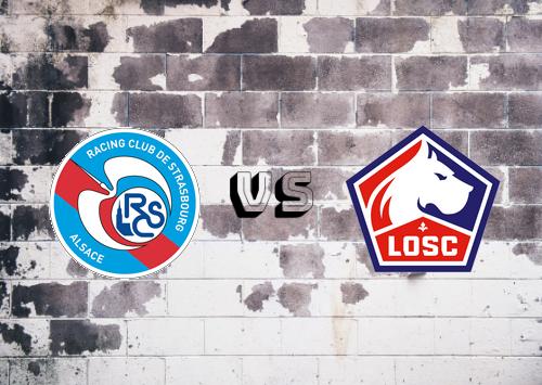 Strasbourg vs Lille  Resumen