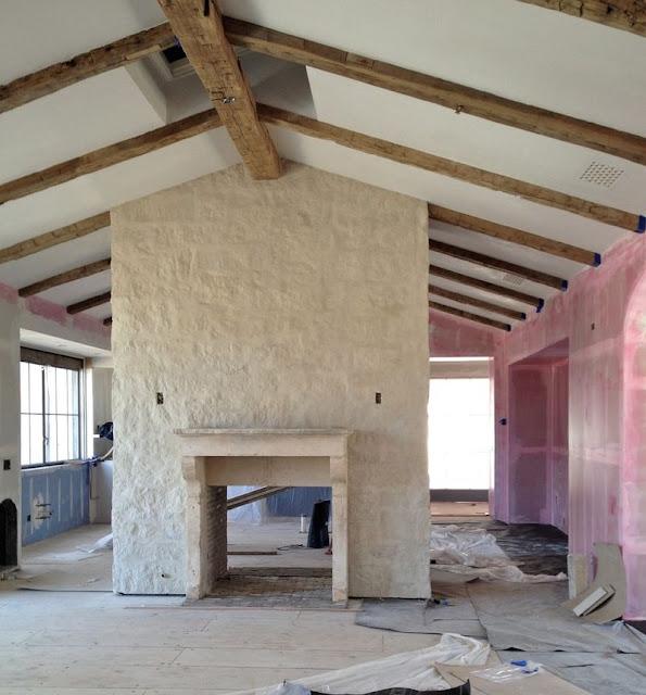 Inspiring interior design inspiration in modern French farmhouse kitchen - found on Hello Lovely Studio