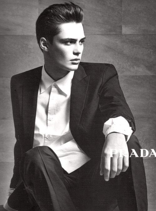 Fashion World Prada Male Models