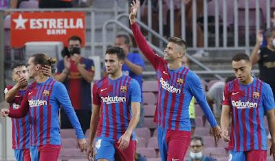 برشلونة يقصو على ريال سوسيداد
