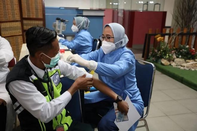 Cakupan Vaksinasi Wajo Tertinggi ke-4 di Sulsel