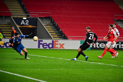 ملخص واهداف مباراة روما وسبورتينج براغا (2-0) الدوري الاوروبي