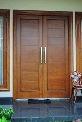 Model Pintu Rumah Minimalis Gaya Keren Nan Elegan