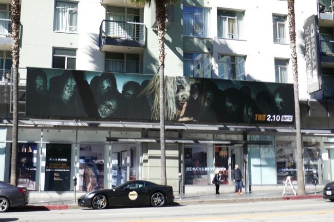 Walking Dead season 9 Whisperers billboard