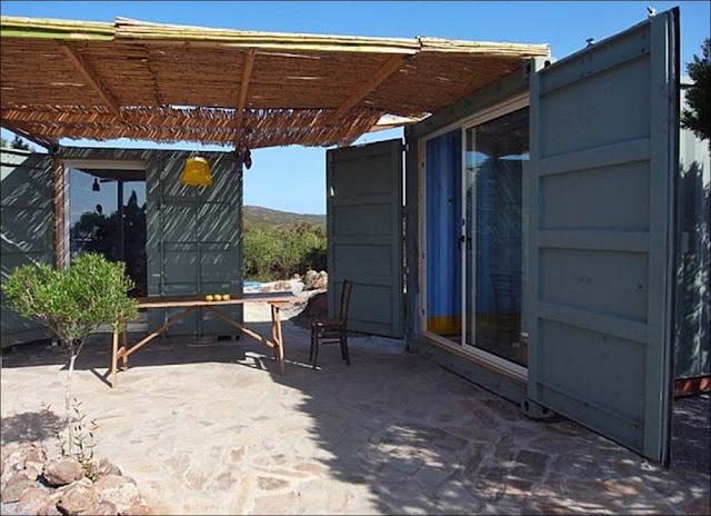 Casa verão containers