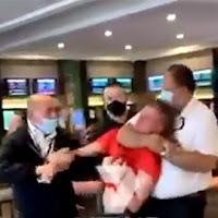 HORROR do estado policial da Covid-19 na Austrália por não usar máscara