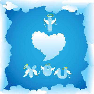 I Love You Clouds