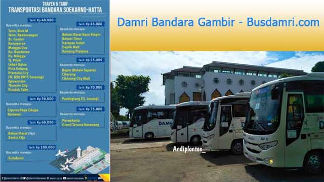 Damri Bandara Gambir, Ini Harga Tiket & Jadwalnya