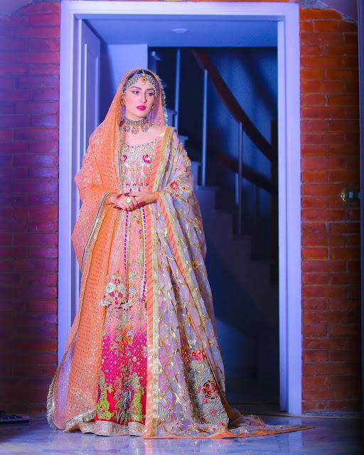 Latest Ayeza Khan Mehndi, Nikah and Wedding Photoshoot
