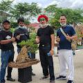 Sedang Berlangsung Pameran Komunitas Pecinta Bonsai Inhil