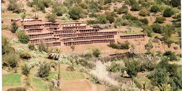 Inzerki apiary Morocco