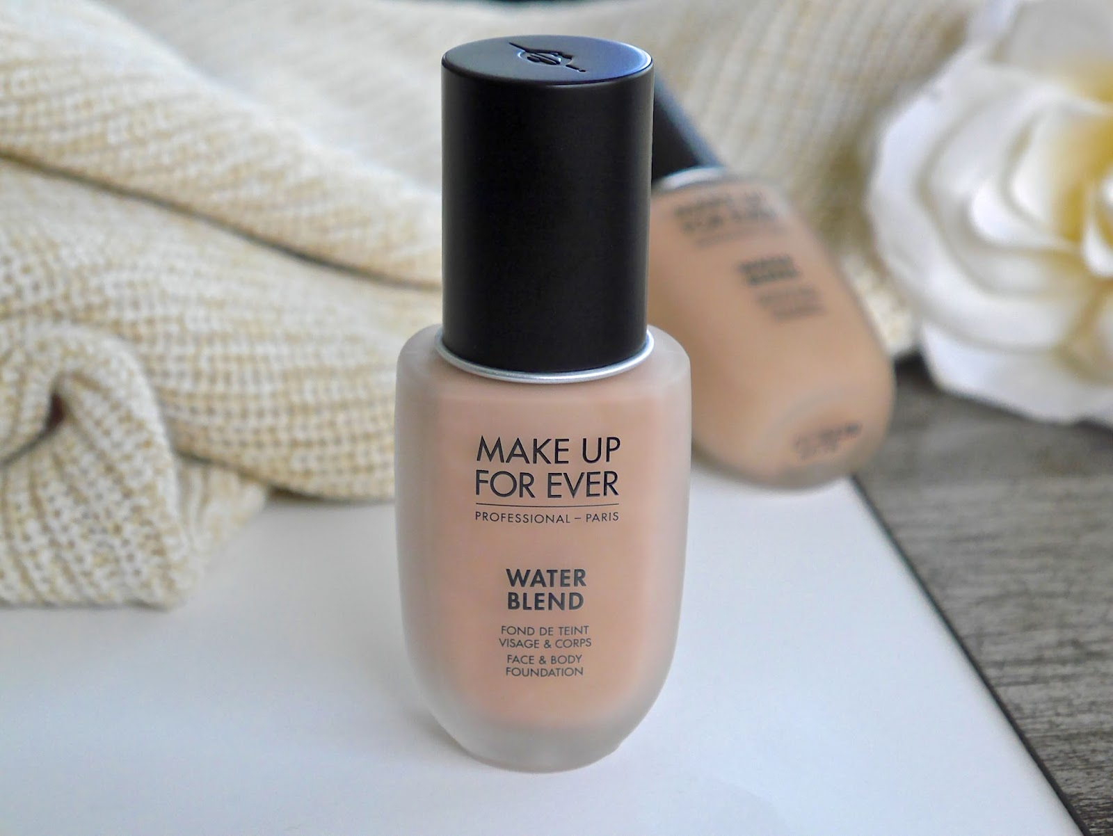 Beauty Holy Grails: MAKE UP FOR EVER Water Blend Foundation