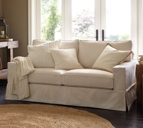 The collected interior friday five new sofa client for Small square sofa