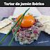 Tartar de jamón ibérico #receta