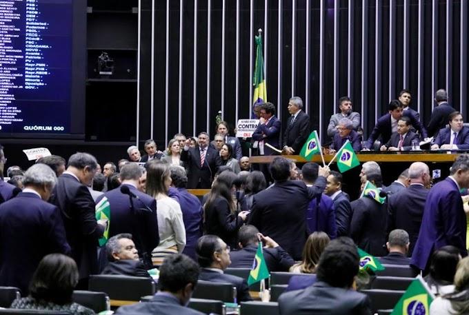 Câmara aprova texto-base da reforma da Previdência em 1º turno