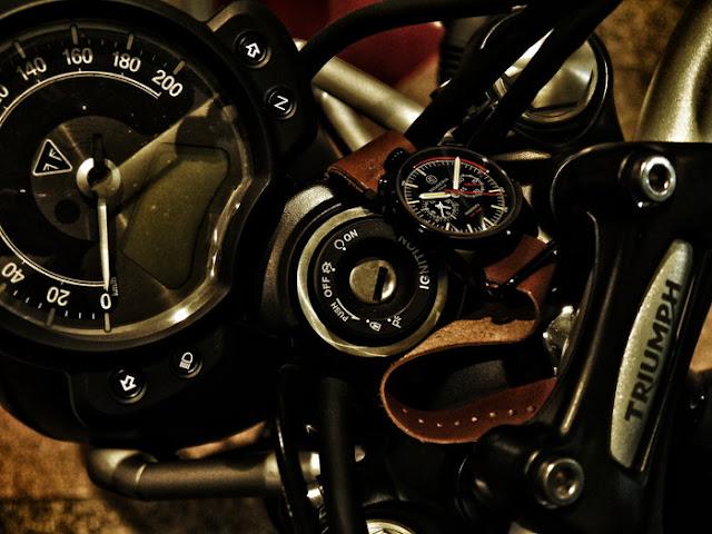 大阪 梅田 ハービスプラザ WATCH 腕時計 ウォッチ ベルト 直営 公式 CT SCUDERIA CTスクーデリア Cafe Racer カフェレーサー Triumph トライアンフ Norton ノートン フェラーリ RED ZONE レッドゾーン CS10110