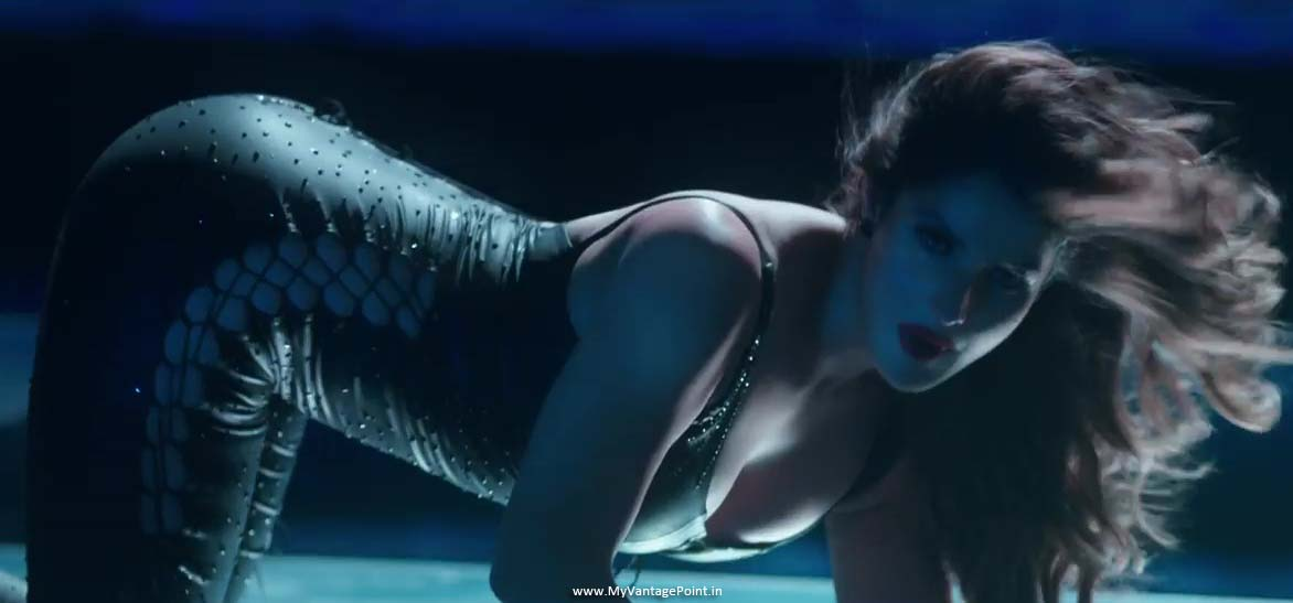 Zareen Khan hot dance stills, Zareen Khan maahi ve song stills, Zareen Khan in movie wajah tum ho